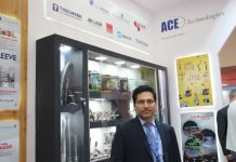 Hari Menon, director, Ace Tehcnologies at Drink Technologies India. Photo PSA