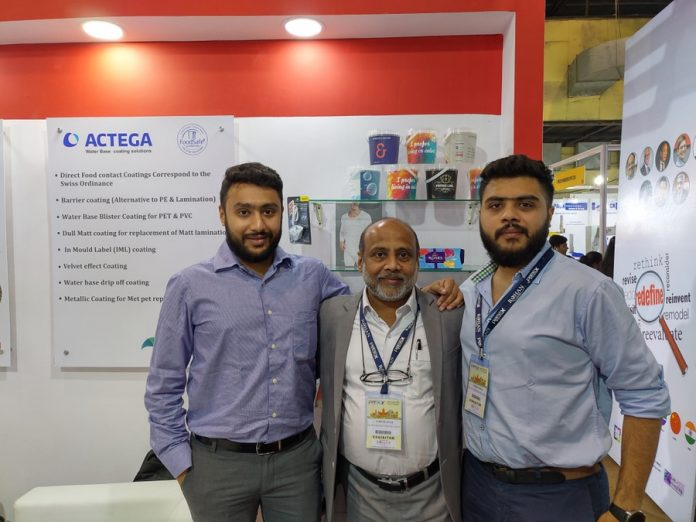 L to R: Kaushil Shah, Suresh Shah and Naineel Shah of Nulith at Pamex 2020. Photo PSA