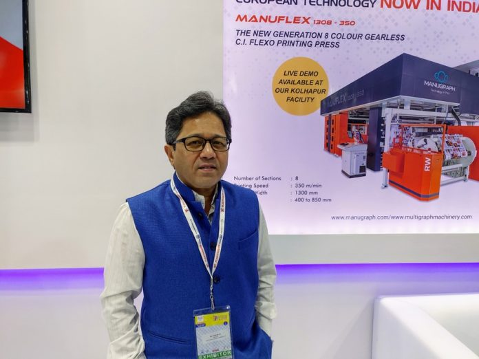 Hiten Mehta of MMCL at Plastivision 2020. Photo PSA