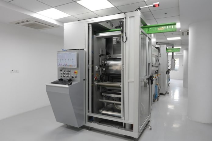 State-of-the-art coating machine at MICC