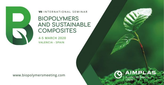 AIMPLAS to organize seminar on biopolymers and sustainable composites