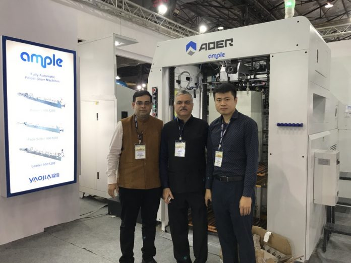 Ample Graphics team at Pamex 2020. Photo PSA
