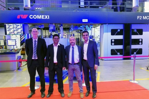 One Comexi F2 MC flexographic press and two Comexi S2 DT slitters will allow Constantia to produce more sustainable flexible packaging at Constantia Ecoflex Ahmedabad