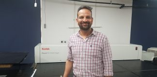 Deepanshu Goyal, owner of Creative Graphics