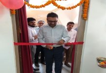 Sanjay Kapote, chief executive officer of Manjushree Technopack inaugurating the new plant