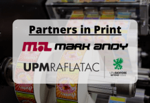Mark Andy and UPM Raflatac announce strategic partnership