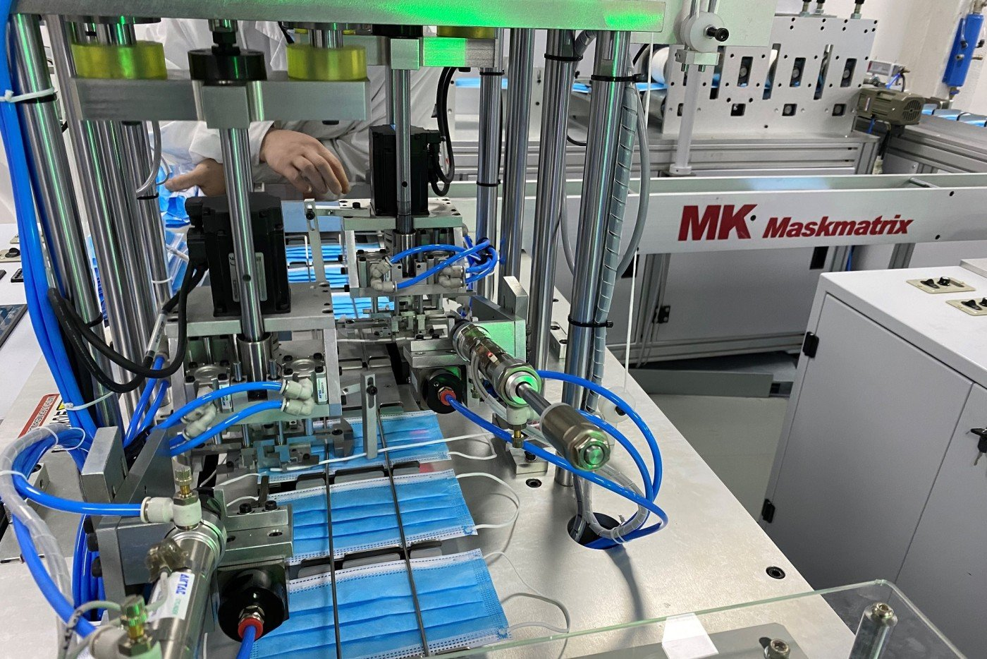 Masterwork MK, partner and largest single shareholder in Heidelberg, founded MK healthy Co., Ltd. at the end of February, and has entered into the production of medical face masks.