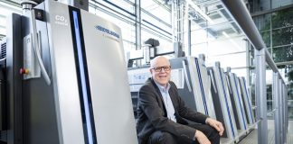 Rainer Hundsdörfer, chief executive officer of Heidelberg, providing support to the customers during the coronavirus pandemic has top priority