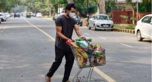 Home delivery of groceries