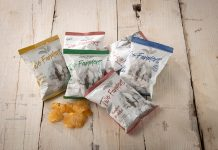 Parkside's Pack2Nature compostable flexible packaging used for snack foods Photo Parkside