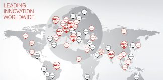 Bobst has production facilities on three continents, as well as a sales and services network with facilities in more than fifty individual countries. Graphic Bobst