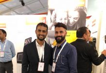 Vicky Jain, group director Color Flex (Right) and Lalith Jain, director - operations (Left) of Color Flex