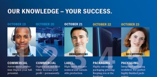 Heidelberg Innovation Week: Everything in the five-day online event is focused on sharing knowledge about the pressing issues in the industry for the commercial, label and packaging printing segments. Image Heidelberg