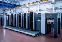 With a printing output of up to 18,000 sheets per hour, the Rapida 76 is built for speed Photo K&B