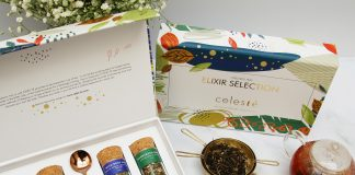 Celesté's gifting range of luxury teas