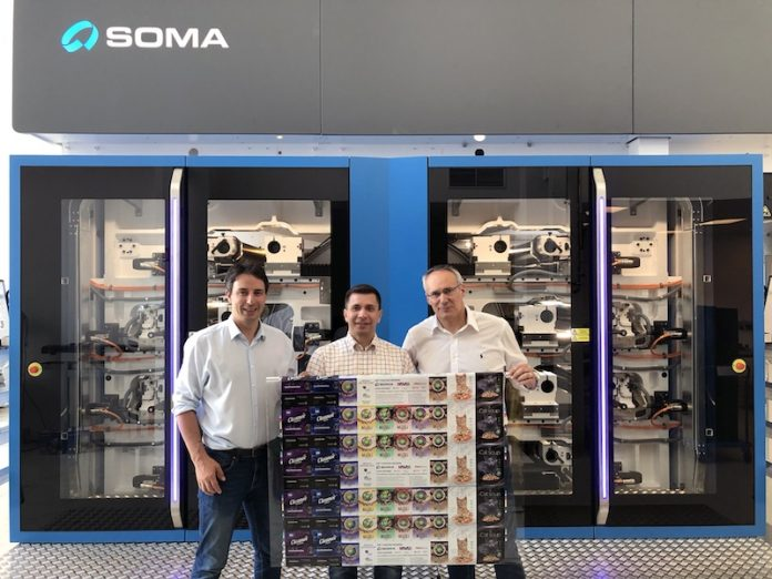 Soma, Flint Group, and Marvaco presented - A sustainable way of high quality package printing through Soma's online product launch seminar – July 9, 2020 Photo Soma