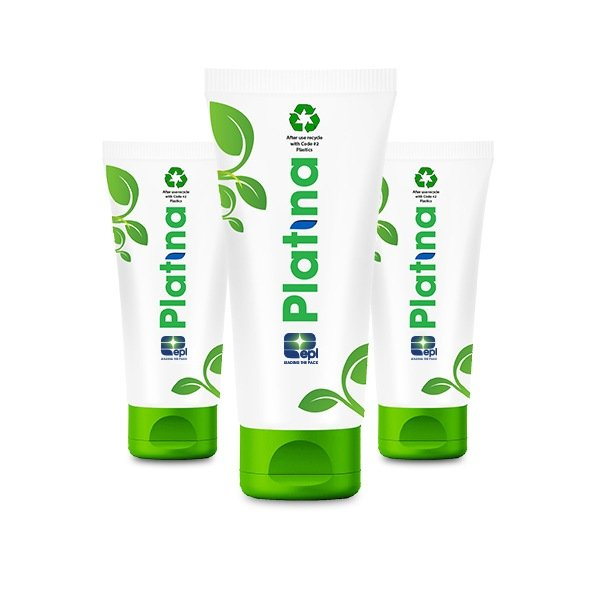EPL's Platina fully recyclable packaging tube