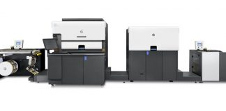 The HP Indigo 6900 digital label press installed at Sai Digistik Labels in Sonepat