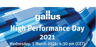 Virtual Gallus high performance webinar