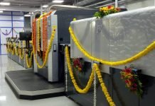 HP Indigo 30000 at Parksons' Daman plant (Photo: PSA)| Parksons Packaging