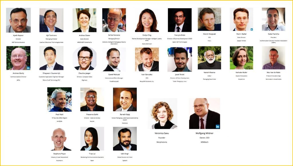 Speakers at the Smart Packaging Solutions for India and South Virtual Congress on 19 March