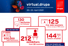 virtual event at virtual.drupa