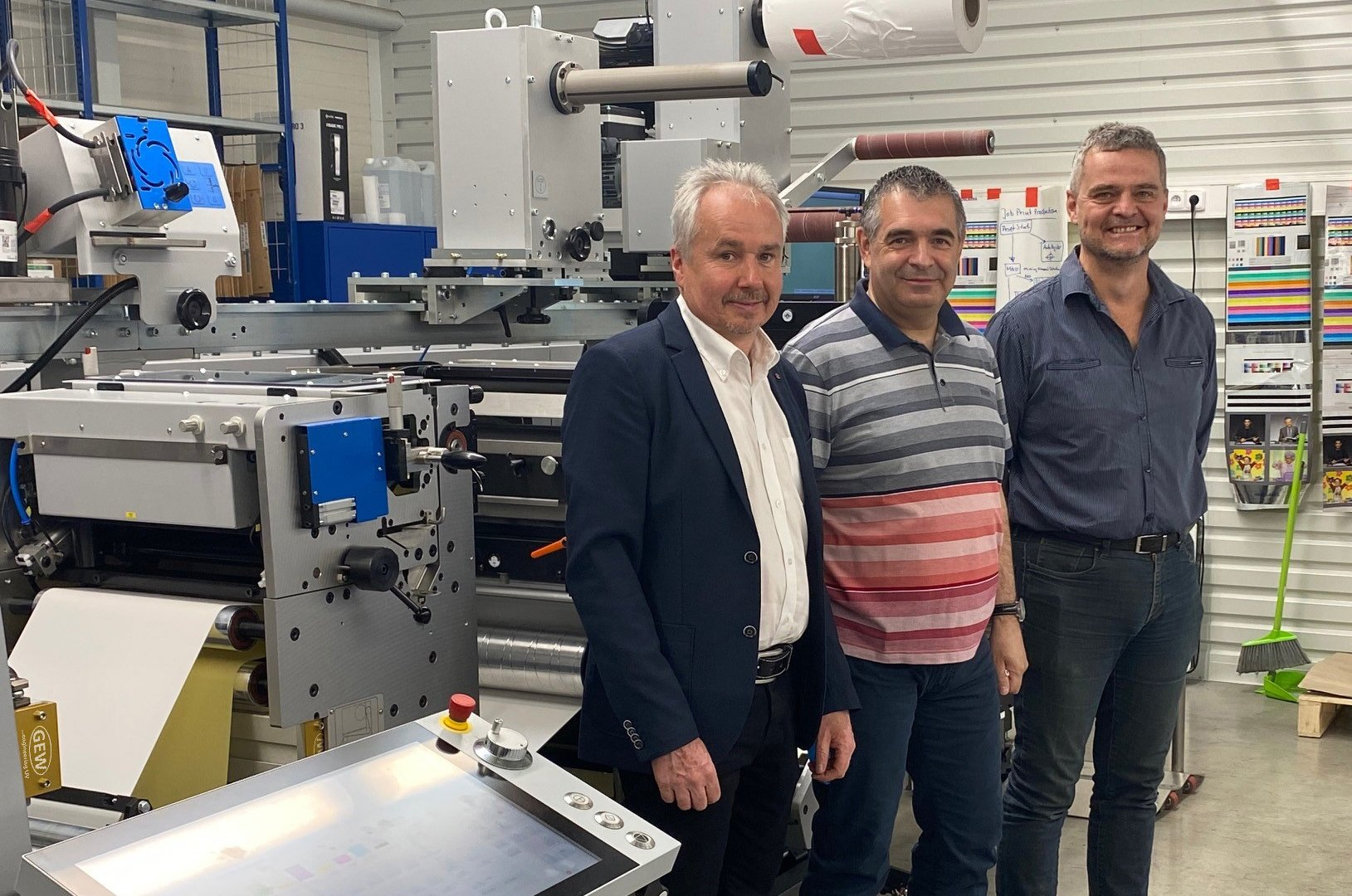GEW's 20,000th system installation takes place in the Czech Republic