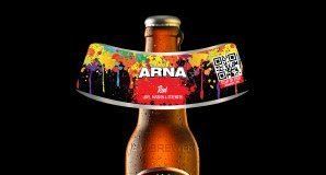 ARNA Beer Augmented Reality label by Chromaprint