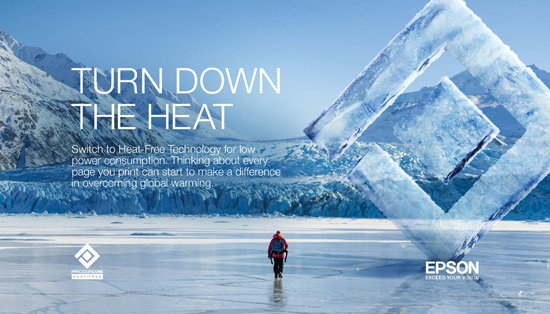 Epson with National Geographic to promote newly launched 'Turn Down the Heat' campaign