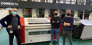 DuPont Cyrel FAST flexo plate processor installed at Comexi Ctec