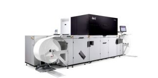 Durst's new Tau 510 RSCi at All4Labels in Gebesee