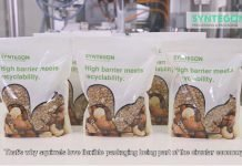 """New PE-based high-barrier food pouch designed for recyclability Sustainability: Dow, Syntegon, Comexi, Plastchim-T & Ticinoplast collaborate Together with a value chain team, on 15 July 2021 Dow Packaging and Specialty Plastics, a business unit of Dow announced the successful development of an innovative, polyethylene(PE)- based, high-barrier food pouch, which is not only functional, but designed to enable recyclability in PE-streams. The pouches have been created together with Syntegon, Comexi, Ticinoplast and Plastchim-T. The flexible pouches are made predominantly from a single material – PE. Mono-material pouches are easier to recycle than packaging structures available on the market today, which are made up of multiple materials, each performing a different function. The solution that the team has been able to create enables customers to achieve the necessary functionality provided by those multiple materials – for example, oxygen and water vapor barrier, printability, toughness, stiffness, excellent gloss and clarity – without compromising recyclability. Pierre Hamelink, global account management and sustainability, vertical segment, at Syntegon, commented, """"Syntegon is embracing the sustainability challenge towards a circular economy and therefore wants to collaborate with leading brands in the marketplace to offer the best solutions possible to its customers. It's a big step forward: through this joint solution brands who need a recyclable packaging material with appropriate barrier performance for a range of dry goods, and who do not want to compromise on bag quality and machine speed, now have a tune-able option at hand."""" Each project member was able to bring in a unique perspective and experience from decades of packaging processing expertise, which led to the new pouch design being developed to run at speed on existing machinery, delivering high quality at each step of the way and therefore providing a commercially-viable solution to the market. The crea"""