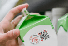 SwissDeCode's A2 Inside Label that can authenticate and track the source of milk and dairy products