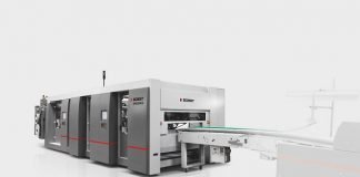 Bobst Speedpack automatic packer