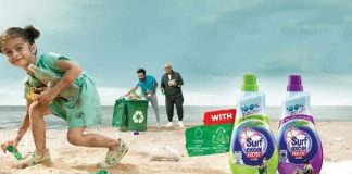 Hindustan Unilever is introducing Surf Excel Matic Liquid with a recyclable bottle