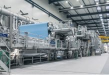 Koehler Paper products on production line 8 have been made using 100% green energy, including the flexible packaging paper and the environmentally‐friendly thermal paper Blue4est