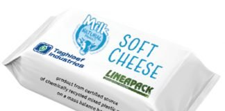 The Italian packaging award winning Taghleef Lineapack for softball cheese Image Ti